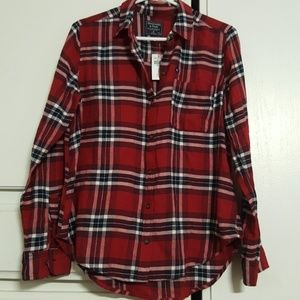 NWT ABERCROMBIE  Flannel size M